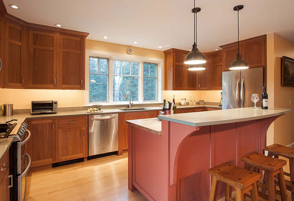 A Family Kitchen - Vermont Residential Architecture