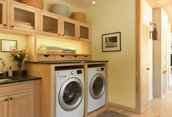 Laundry Room Update - Vermont Residential Architecture