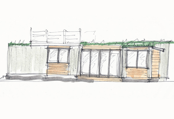 Container Home - Vermont Residential Architecture