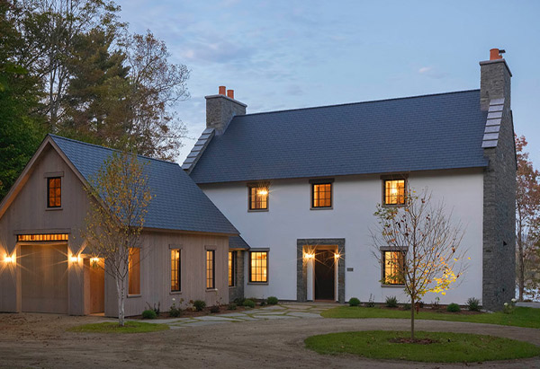 Traditional Scottish Stone Cottage New Construction - Vermont Residential Architecture