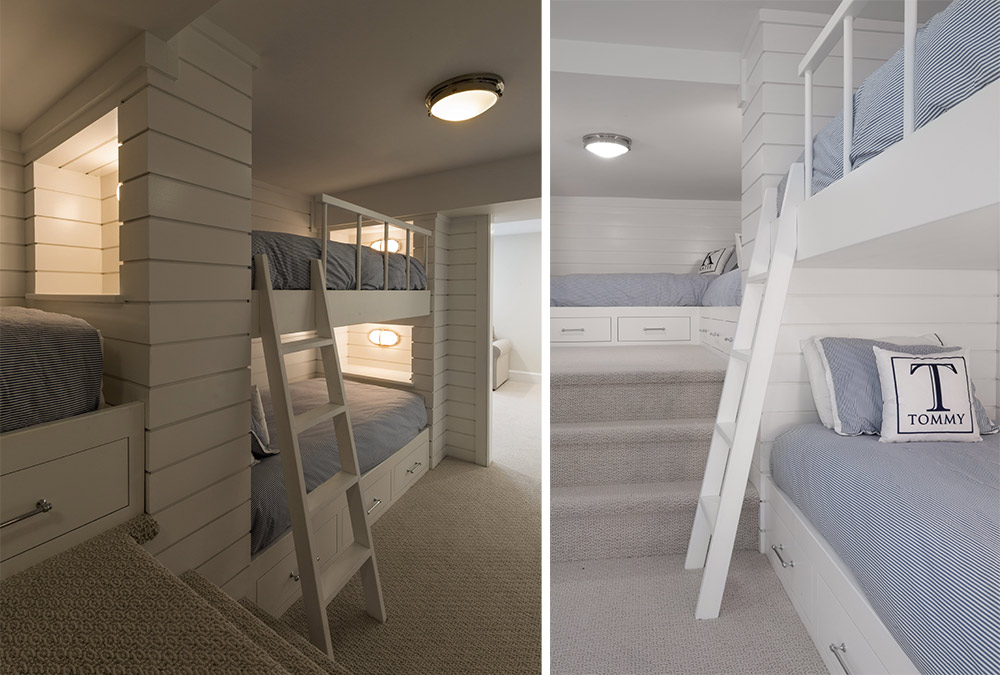 Picture of the bunk beds